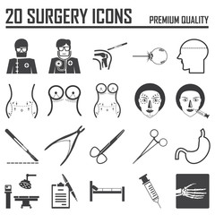 20 surgery icons