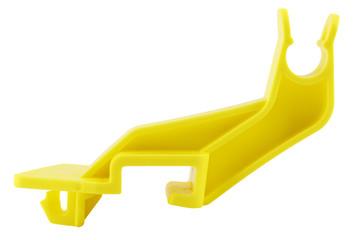 Bonnet rod retaining clip