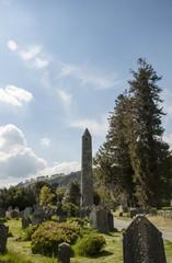 Torre circolare e cimitero