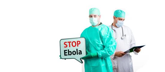 Stop Ebola medical dotors