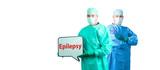 Medizin Epilepsie Symptome poster