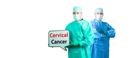 cervical cancer woman man