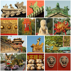Beijing  images collage