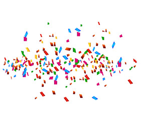 celebration background with confetti for you design