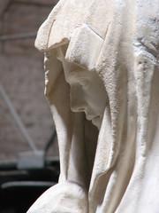 Statua, Dettaglio, Veste