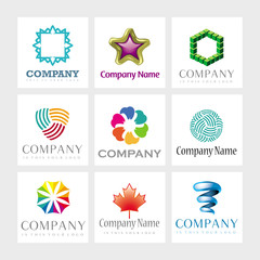 Vector elements for logo design