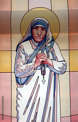 Fototapeta Mother Teresa, Memorial House in Skopje