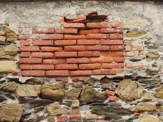 Muro, Parete, Mattoni