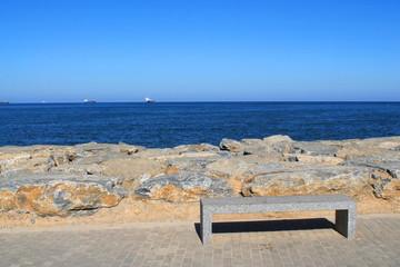 Promenade des Sablettes à Alger
