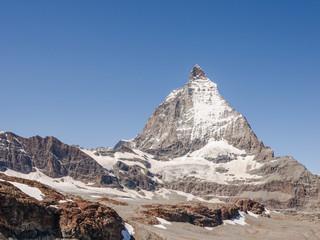 Zermatt, Dorf, Trockener Steg, Alpen, Wallis, Sommer, Schweiz