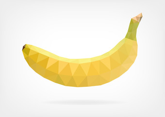 Low Poly Banana