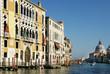 Venedig, Canal Grande mit Palästen und  Santa Maria della Salute