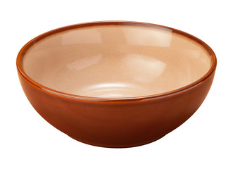 Brown Ceramic Bowl