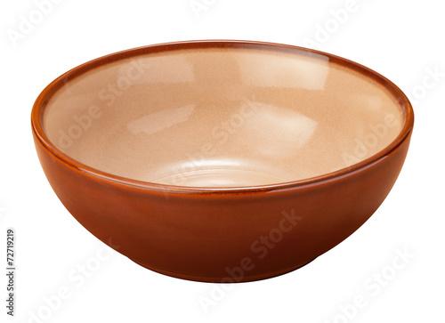 Brown Ceramic Bowl - 72719219