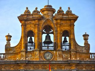 Salamanca, Plaza Mayor, espadaña del Ayuntamiento