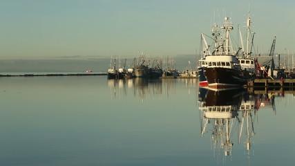 Steveston Harbor, Calm Morning, Richmond, BC