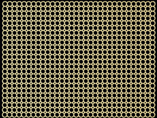 metallic gold cell background