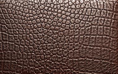 Dark alligator patterned background