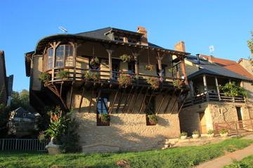 Vieille maison à Montignac.