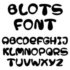 blots alphabet