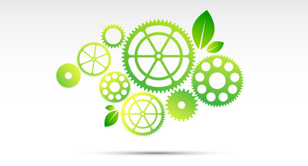 ingranaggi, natura, ecosistema, orto dinamico