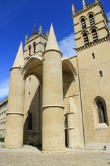 Saint Pierre Cathedral , Montpellier, France