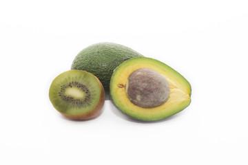 авокадо и киви