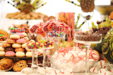 Delicious wedding table