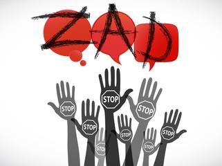 groupe mains : ZAD