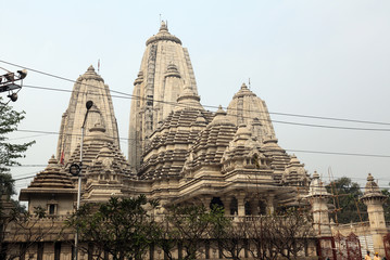 Birla Mandir (Hindu Temple) in Kolkata, West Bengal, India