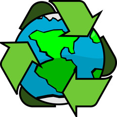 Green Planet Recycle Earth Home