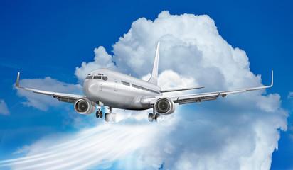 Passagierflugzeug - Himmelsstürmer