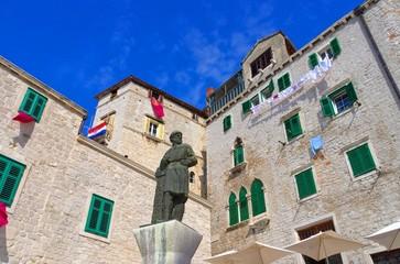 Sibenik Dalmatinac Denkmal - Sibenik Dalmatinac monument 01