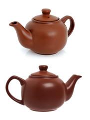 Ceramic teapot for brewing tea
