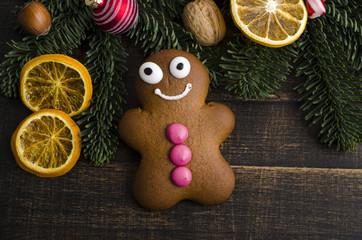 Lebkuchenmann, Weihnachten, gebäck