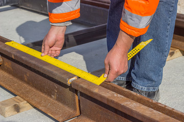 Preparation for rail welding process