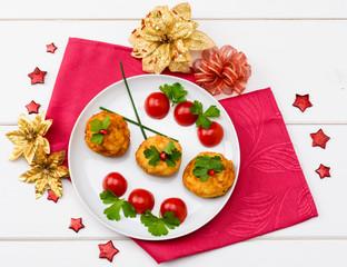 Polpette di baccalà per menù di Natale