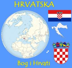 Croatia location emblem motto