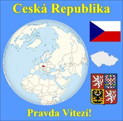 Czech Republic location emblem motto