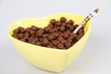Cornflakes With Chocolate