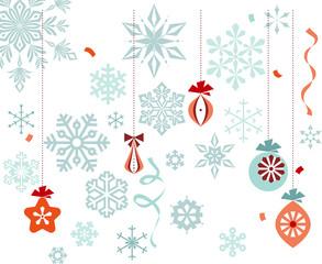 Christmas Ornaments Snowflakes
