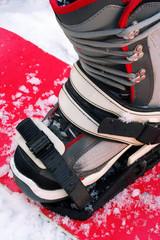 Snowboarding boot