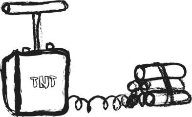 doodle Explosive Dynamite