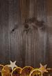 canvas print picture - Weihnachten Holz Hintergrund