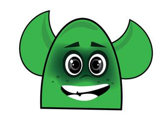 zielony duszek