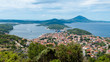 Leinwandbild Motiv Panoramic sight of Mali Losinj