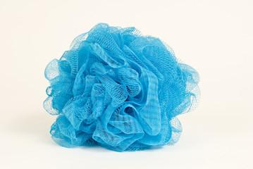 Blue Bath Scrubby