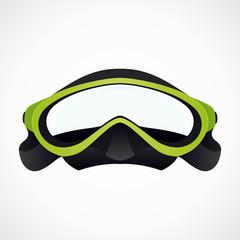 Diver mask 3D