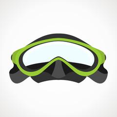 Diver mask 2D