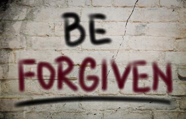 Be Forgiven Concept